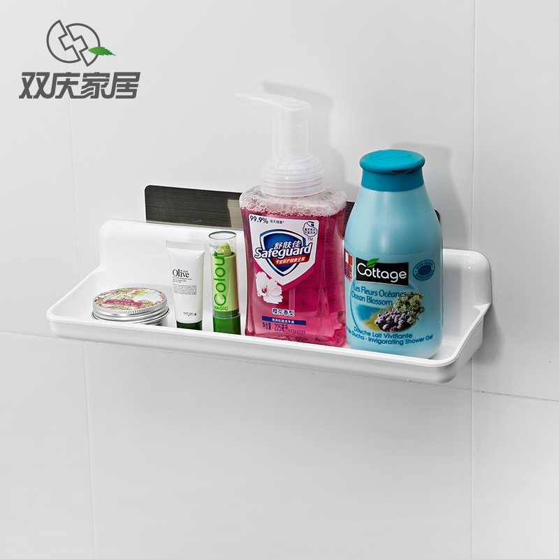 bathroom shelf wall shelf rack spice rack kitchen plastic holder ...
