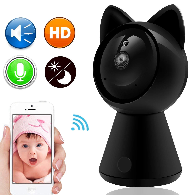 все цены на Vanxse CCTV WIFI WIreless 1080P Video Network IP camera Network Surveillance Security Camera Lovely cat онлайн