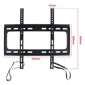 Image 2 - 범용 45KG 1.5mm 콜드 라이징 보드 TV 벽 마운트 브래킷 플랫 패널 TV 프레임 26   60 인치 LCD LED 모니터 플랫 팬