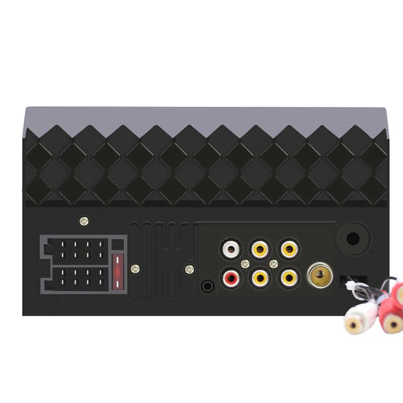 360 ภาพพาโนรามารถวิทยุ Carplay 2 Din Autoradio ลิงค์กระจกเงา Bluetooth 2din รถสเตอริโอวิทยุ USB FM AUX