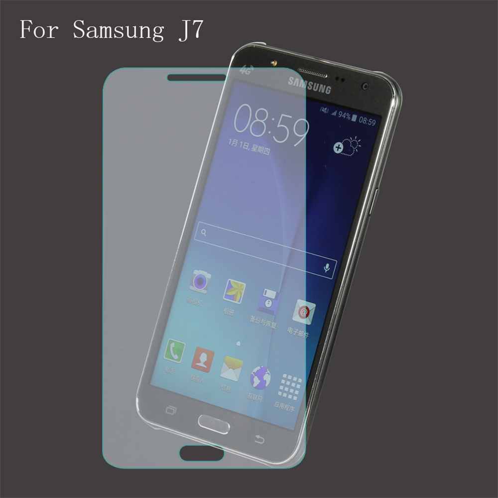 For Samsung Galaxy J7 Tempered Glass Top Quality Glass