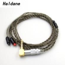 Free Shipping Haldane 1.2M  Earphone Cable HiFi Headset Line upgrade cable for im50 im70 IM01 im02 im03 im04 free shipping haldane 1 2m earphone cable hifi headset line upgrade cable for im50 im70 im01 im02 im03 im04