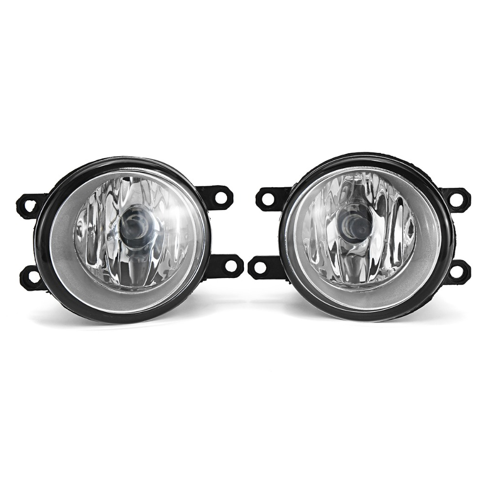 Pair 55W H11 Car Light Fog Light Lamp Left+Right Replacement Fog Lamp Set For Toyota/Camry/Corolla/Yaris/RAV4 for Lexus car front bumper fog lamp lights for toyota yaris camry avensis rav4 corolla highlander matrix prius for lexus rx270 lx570
