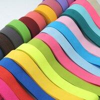 DIY Одежда Вышивание плотная резинка, 2 см широкая резинка, эластичная одежда с широким поясом цвета резинкой, 1 шт. = 2 двор