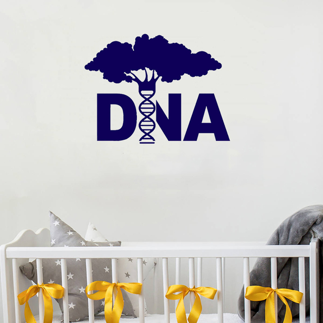 STIZZY Wall Decal Creative DNA Tree Genetics Pattern Vinyl Wall ...