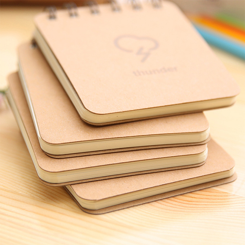 Korea Stationery Väderprognos Series Coil Book Bärbar - Block och anteckningsböcker - Foto 3