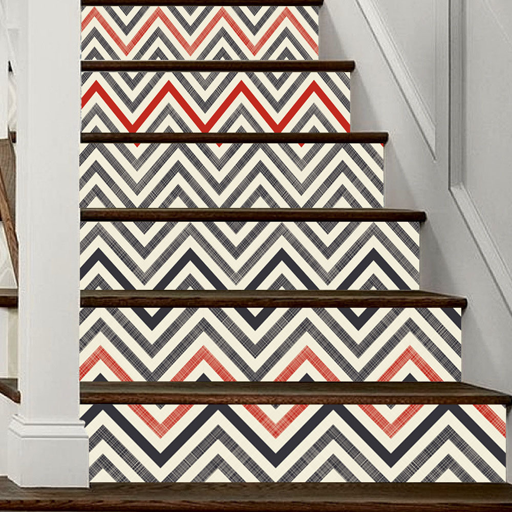 Image 5 - Modern Home Decoration Self adhesive 3D Stairs Stickers Decoration Attic Art Stickers Home Decor Vintage Poster-in Wall Stickers from Home & Garden