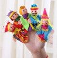 5 unids/set Reina Juguete de la Marioneta Significa Incluso Muñecas Placarders Títeres Muñecos de Cuentos Bebé de 3 Colores