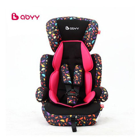 Abyy child car safety seats with CCC ECE certification five-point fixation type kid children car seat for 9 months -12 years old europen ece child car safety seats high quality isofix baby car seat for 9 months 12 years old children boys girls