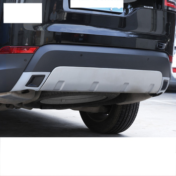 Parachoques De Descubrimiento De Land Rover | Lsrtw2017 Abs Ingeniería De Plástico Del Coche Trasero Parachoques Lateral Del Panel Trims Para Land Rover Discover Sport 5 2017 2018 2019 2020