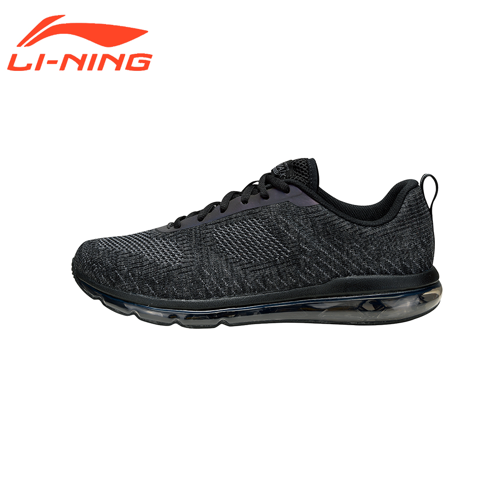 Li-Ning Men Cushion Classic Walking Shoes Knitting Breathable Sneakers Sports Shoes Brand LiNing AGCM097 li ning new arrival skateboard boot height increasing winter high top sport shoes sneakers walking shoes men alak049 xmr1159