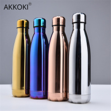 Stainless Steel Thermos Vacuum Insulated Cola Cup Bottle For Water Bottles Double-Wall Outdoor Travel Drinkware Gym Sports Flask
