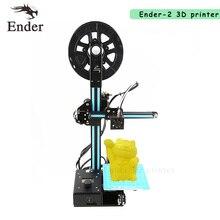 Новинка 2017 года Ender-2 3D принтер DIY Kit Desktop RepRap Prusa i3 мини 3D принтер A6 A8 с нитями 8 г SD карта в подарок