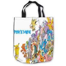 Custom Canvas Pokemon (38) Tote Hand Bags Shopping