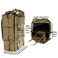 Tactical Molle Vest Bag Airsoft 5 56 Magazine Pouch 1000D For Military Outdoor Hunting Hiking Paintball