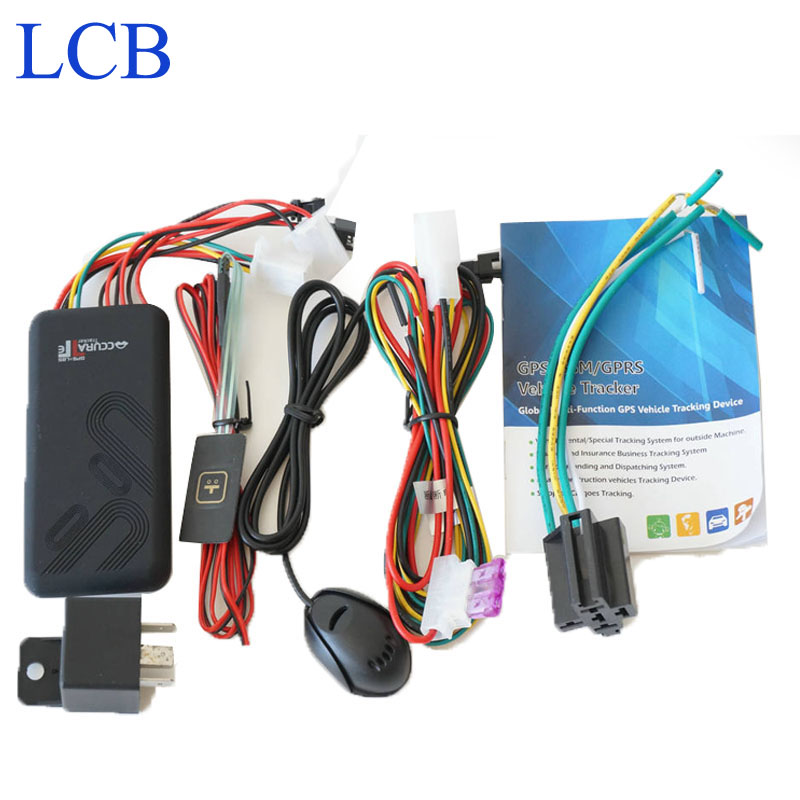 Free Shipping gps tracker gps tracking Mini car Vehicle GPS Tracker GT06 with Cut off fuel