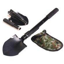 Multi-function Engineer Outdoor Fishing Shovel  Garden Tools Chinese Military Small Folding Shovel
