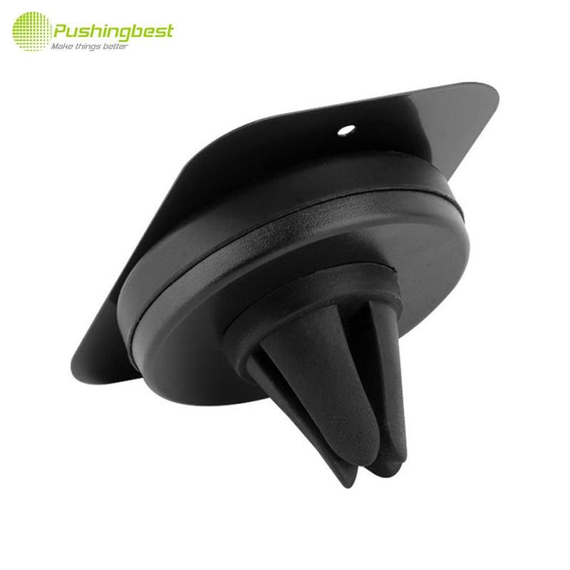 Pushingbest placas de metal magnético universal para coche soporte para teléfono