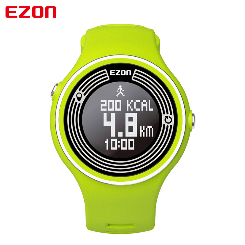 EZON S1 Multicolor Men Women Sports Bluetooth Watch Pedometer Calories Counter Digital Running Watch for Android IOS 2008 donruss sports legends 114 hope solo women s soccer cards rookie card