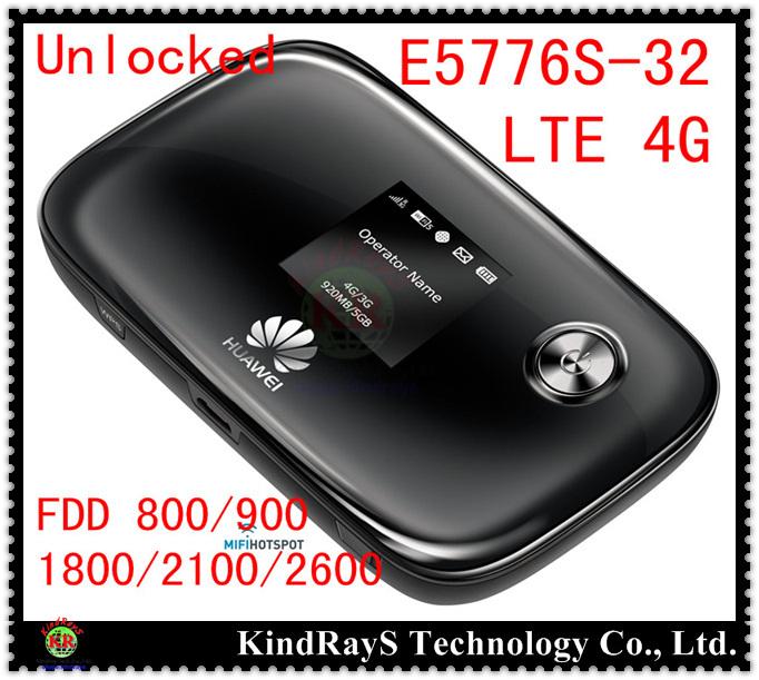 Unlocked Huawei E5776s 32 lte 4g Wifi Router Mobile Hotspot 4g mifi dongle  wifi router 150mbps e5776 pk E5372 e589 e5878 e5786-in Networking from
