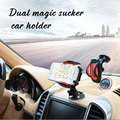 Universal del teléfono móvil del parabrisas del coche horquilla del sostenedor del montaje para el iphone xiaomi samsung htc lg motorola sony 3 teléfono de 6.5 pulgadas