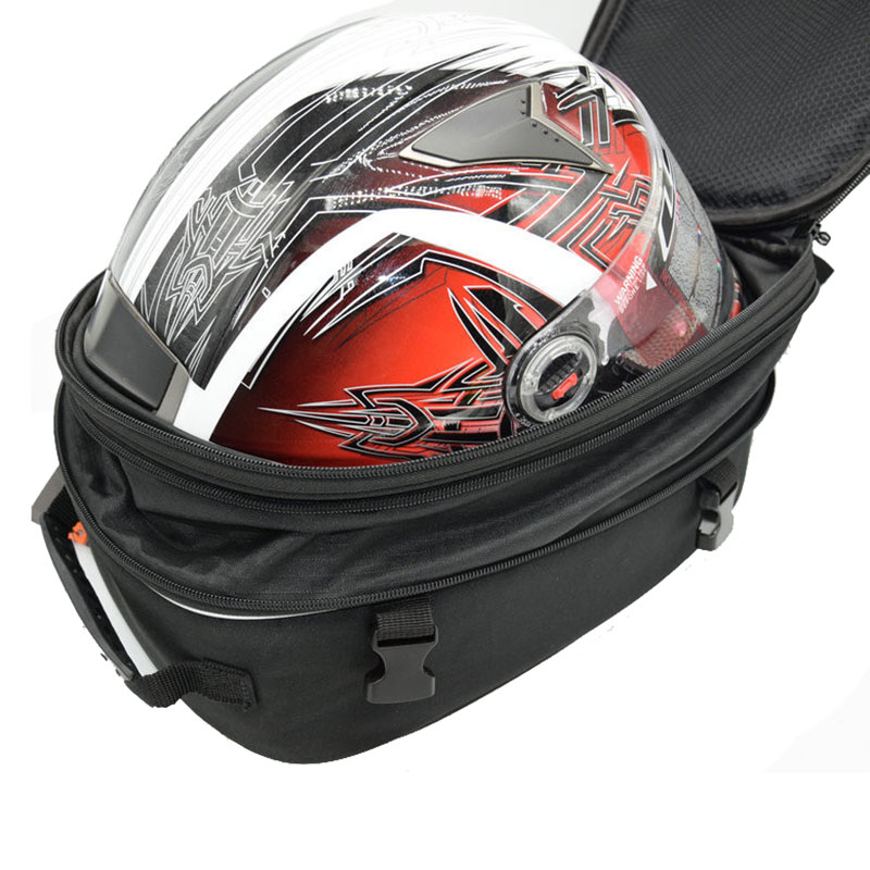 MT07 MT09 R3 R25 Helmet bag Motorcycle Saddle bag luggage Suitcase Around Rear Seat Bag Waterproof