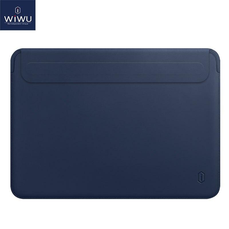 WIWU Estojo de capa para laptop mais novo para MacBook Pro 13 A2159 2019 Estojo de transporte para laptop de couro PU para MacBook Pro 13 A1706 A1708 Air 13 A1932