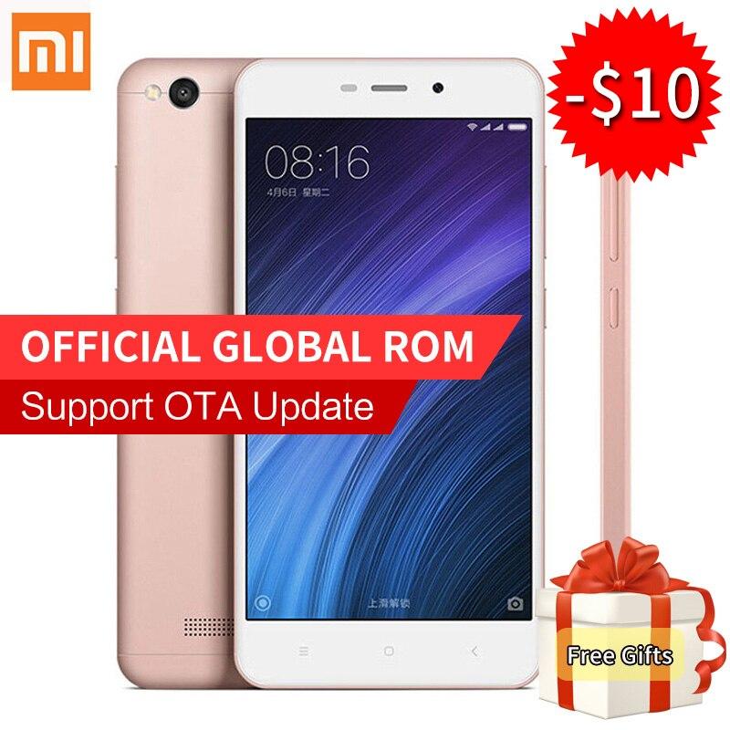 Original Xiaomi Redmi 4A Mobile Phone Snapdragon 425 Quad Core 2GB RAM 16GB ROM 13 0MP