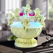 Хорошее искусство стиль фонтан воды украшения гостиная балкон украшения для фонтана Амур