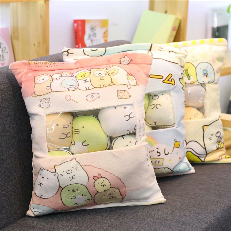candice guo! cute plush toy one bag san-x Sumikko Gurashi corner biological soft stuffed doll cushion birthday Christmas gift 1p candice guo plush toy stuffed doll funny the good dinosaur arlo in egg mini cute model children birthday gift christmas present