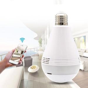Image 2 - 360 Degree Wireless WIFI IP Light Camera 1080P Bulb Lamp Panoramic FishEye Smart Home Monitor Alarm CCTV WiFi Security Camera
