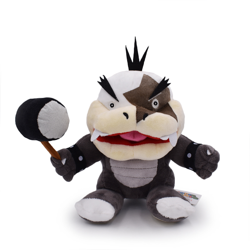 2017 Super Mario Bros. 9inch Morton Koopa JR Plush Soft Toy Stuffed Animal Nintendo Kawaii Kids Stuffed Toys For Children Dolls