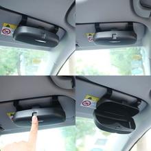 Жеребенок сжигание автомобильный держатель очки чехол держатель для солнцезащитных очков Солнцезащитные очки коробка для Audi Q3 Q5 SQ5 Q7 A1 A3 S3 a4 A6 A7 S6 S7 S4 RS4 A5 S5
