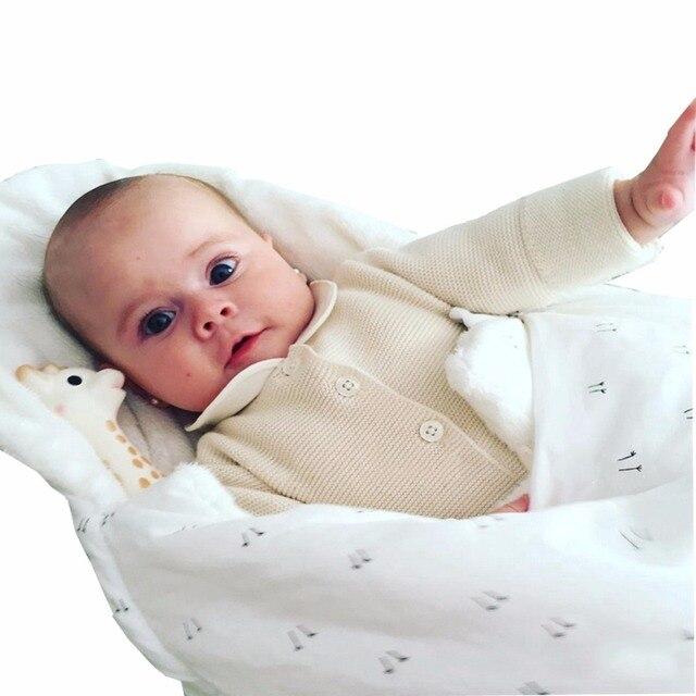 Newborn Cocoon Wrap Sleeping Bag Baby Blanket Winter Envelope