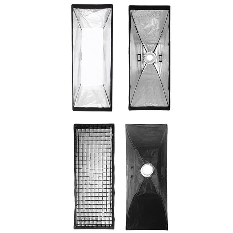 50x130cm Softbox Reflector+Bowens Mount with Gird for Speedlite Flash Photo Studio Soft Box Photography Accesorios Fotografia  photographic 60cmx60cm 24 x24 softbox diffuser reflector with speed ring bowens mount for speedlight flash
