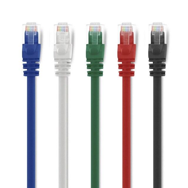 0.5FT 15cm 20cm Short CAT6 Round UTP Ethernet Network Lan