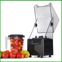 Free Ship Professional Commercial Blender With Blimp Food Processor Food Smoothie Maker Milkshake Machine Mute Blender