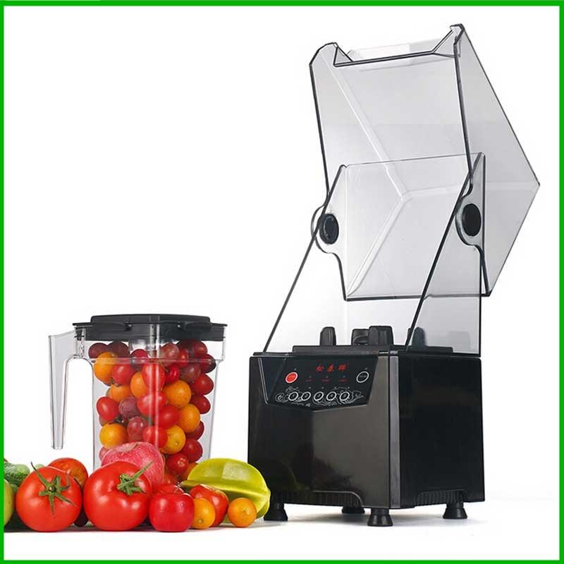 Profesionāls komerciāls augļu maisītājs ar Blimp Food Smoothie Maker daudzfunkcionālu smilšu ledus maisītāju