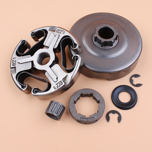 "Image 4 - Clutch Drum Sprocket Rim Washer Bearing Kit For Husqvarna 365 372 XP 372XP 371 362 Chainsaw Parts 3/8"" Pitch 7 Tooth"