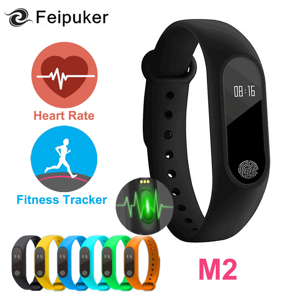 Smart Band M2 Smart Bracelet Heart Rate Monitor Bluetooth