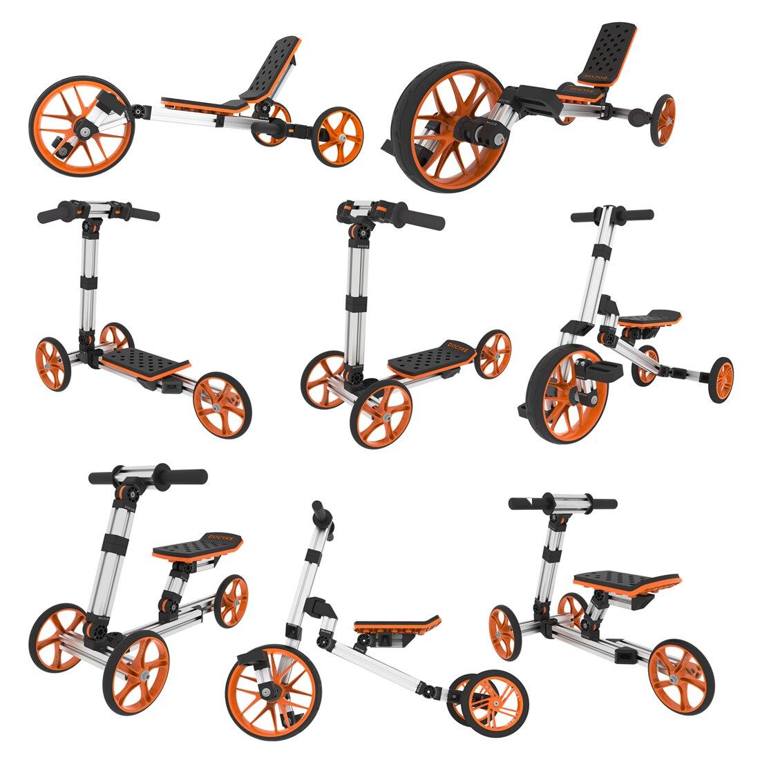 8 en 1 enfants bricolage liberté assemblage modularité déformation équilibre voiture mise à niveau Kit pour 4 en 1 déformation Balance voiture