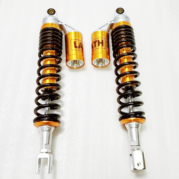 Universal 420mm 415mm 21mm fork width Motorcycle Shock Absorber Suspension For Honda Yamaha Suzuki Kawasaki KTM Dirt Gokart ATV one pair 280mm motorcycle air shock absorber rear suspension for honda ymaha suzuki kawasaki aprilia benelli ktm