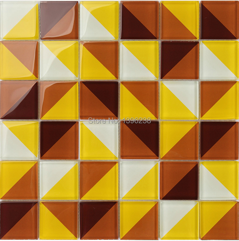 3D Glass mosaic wall tile,kitchen/Bathroom/TV backwall mirror tile luxury glass wall tiles subway decorative art design,LSTC023
