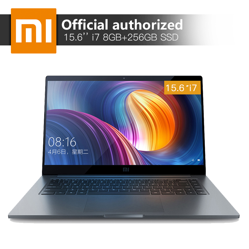 15.6'' Xiaomi Pro Notebook 8GB RAM 256 SSD Intel Core i7-8550U Quad Core CPU 2GB GDDR5 Com