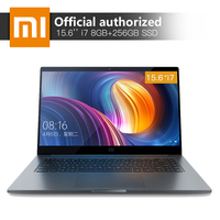 15.6'' Xiaomi Pro Notebook 8GB RAM 256 SSD Intel Core i7 8550U Quad Core CPU 2GB GDDR5 Computer Fingerprint Recognition Laptop