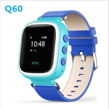 Kids GPS Tracker smart Watch Q60 smart baby watch tracking for Kid Safe SOS Call Anti