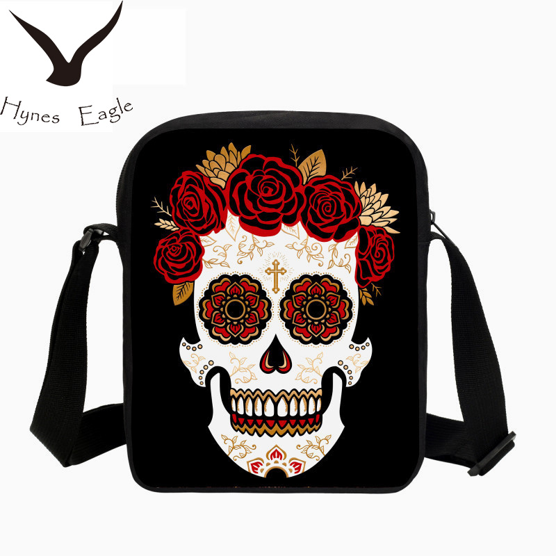 Hynes Eagle Brand Designer Crossbody Bag For Men Wome Face Printing Shoulder Bags Girls Crossbody Bags Lady Mens Messenger Bags