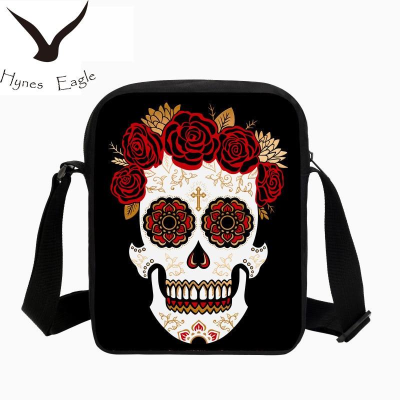 Hynes Eagle Brand Designer Crossbody Bag For Men Wome Face Printing Shoulder Bags Girls Crossbody Bags Lady Mens Messenger Bags