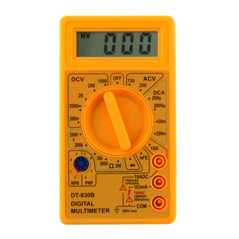 LCD Digitale Multimeter DT-830B Elektrische Voltmeter Ampèremeter - Meetinstrumenten - Foto 4