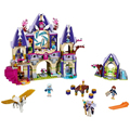 2016 Bela 10415 Elves Azari/Aira/Naida/Emily Jones Sky Castle Fortress Building Blocks  Toy Gift For Girls